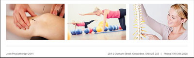 Joint Physiotheraphy - Kincardine
